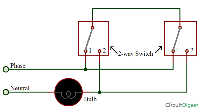 Wiring Diagram Archives How To Do Stuff, Two Way Light Switch Wiring Diagram